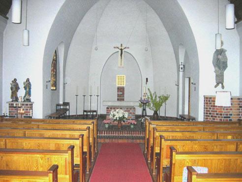St. Josef Strausberg innen