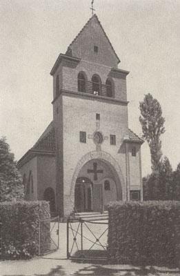 Die Strausberger Kirche in alten Zeiten